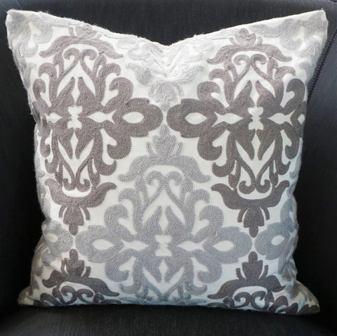 Patterned Cotton Cushion