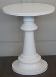 Round Glossy Side Table - CLOSING DOWN PRICE - WAS $399