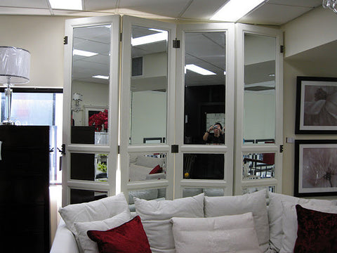AVIGNON MIRRORED SCREEN - IN STORE CLOSING DOWN SALE NOW $500 all floor stock !