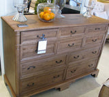 BORDEAUX 10 DRAWER COMMODE - From $1895-$2295