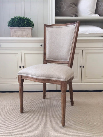 AVIGNON FRENCH SQUARE BACK DINING CHAIR - IN STORE CLOSING DOWN CLEARANCE now $199 !