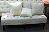 CAMBRIDGE BUTTONED OTTOMAN - IN STORE CLOSING DOWN SALE - WAS $999 !