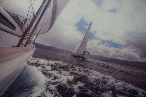 Sailing tempered glass photography - CLOSING DOWN PRICE - WAS $399
