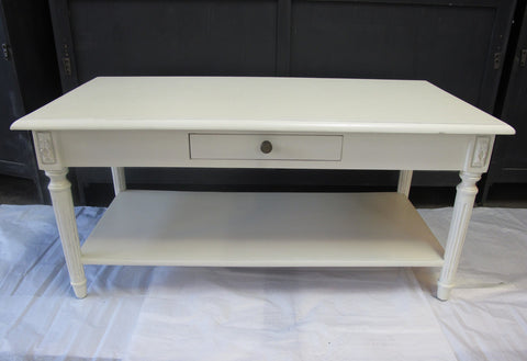 PROVINCIAL PAINTED COFFEE TABLE - CLOSING DOWN PRICE - WAS $599