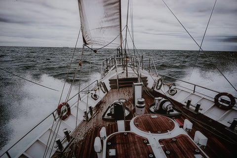 Yacht tempered glass photography - CLOSING DOWN PRICE - WAS $399