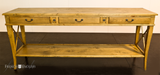 AVIGNON 3 DRAWER CROSS CONSOLE - IN STORE CLOSING DOWN CLEARANCE NOW $895 !