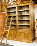 AVIGNON LADDER CABINET - IN STORE CLOSING DOWN CLEARANCE now $2500 in White Floor stock and $3500 in Oak !