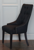 HIGH BACK BECALL BUTTONED CHAIR - CLOSING DOWN PRICE - WAS $499