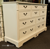 BORDEAUX 10 DRAWER COMMODE - IN STORE CLOSING DOWN CLEARANCE - NOW $1199 !