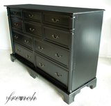 BORDEAUX 10 DRAWER COMMODE