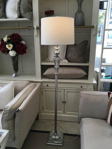 Florence Crystal Floor Lamp