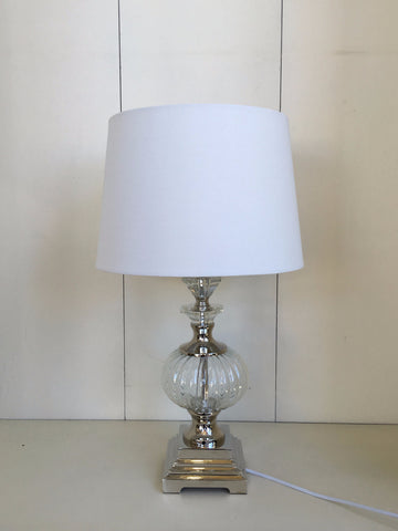 Verona Glass Lamp - glass