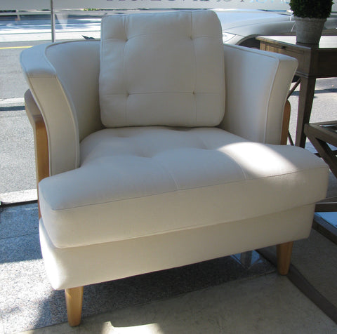 CLEARANCE NOW $995 COPENHAGEN ARMCHAIR Available in Oatmeal Herringbone