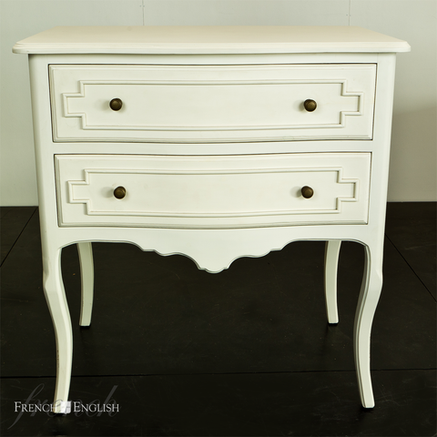 MARSEILLE 2 DRAWER COMMODE