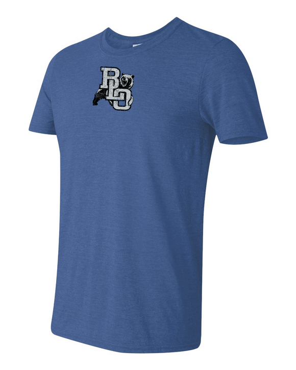 BLO T-shirt Royal Heather