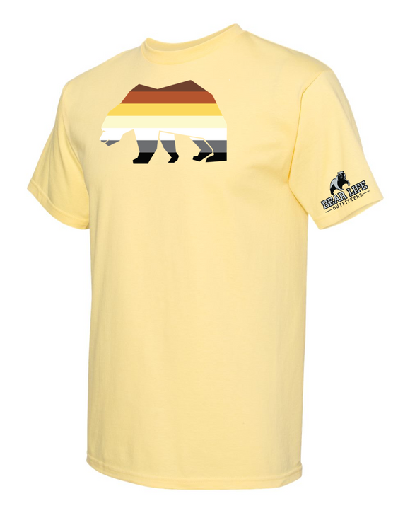 Bear Pride on Yellow T-shirt Spring Collection