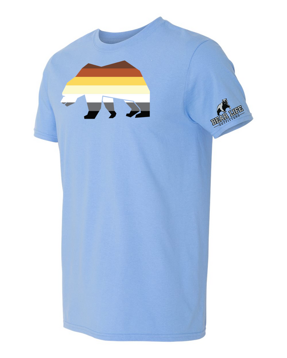 Bear Pride on Colombia Blue T-shirt Spring Collection