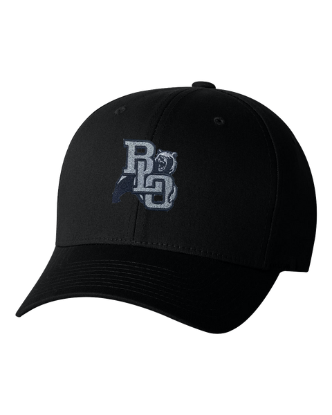 BLO Embroidered Black Flex Fit Hat
