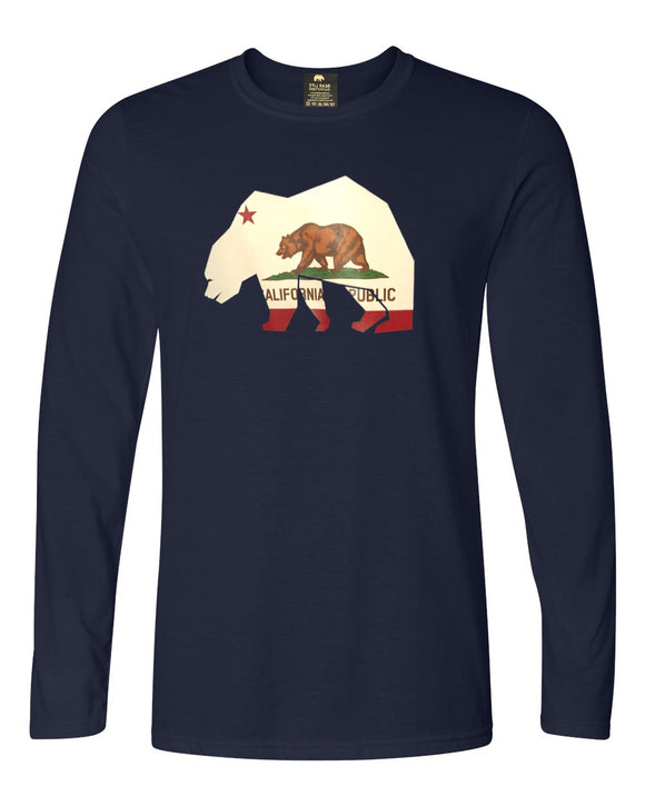 California Bear Long Sleeve T-Shirt by Bear Life Outfitters