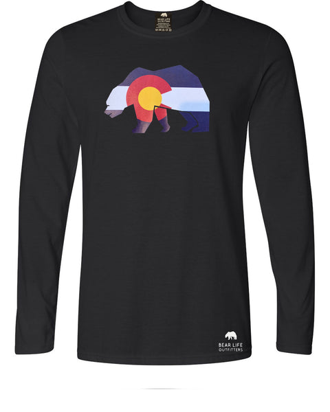 Colorado Bear Long Sleeve T-Shirt by Bear Life Outfitters