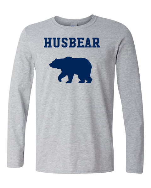Husbear Oxford Long Sleeve T-Shirt