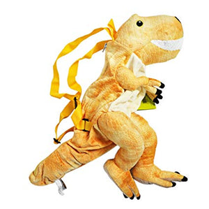 Yellow Dino Backpack