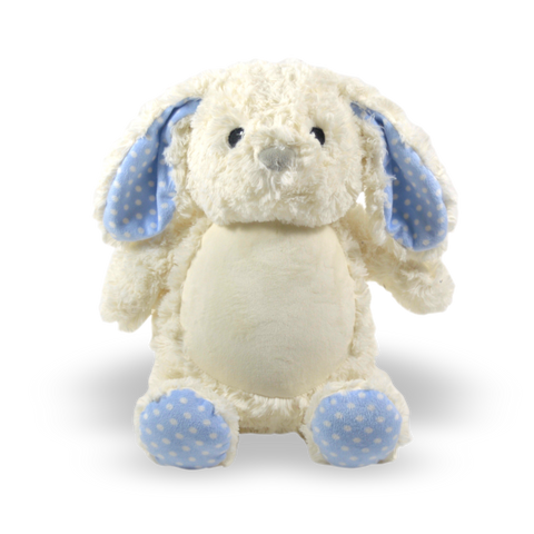 Blue Accent Bunny