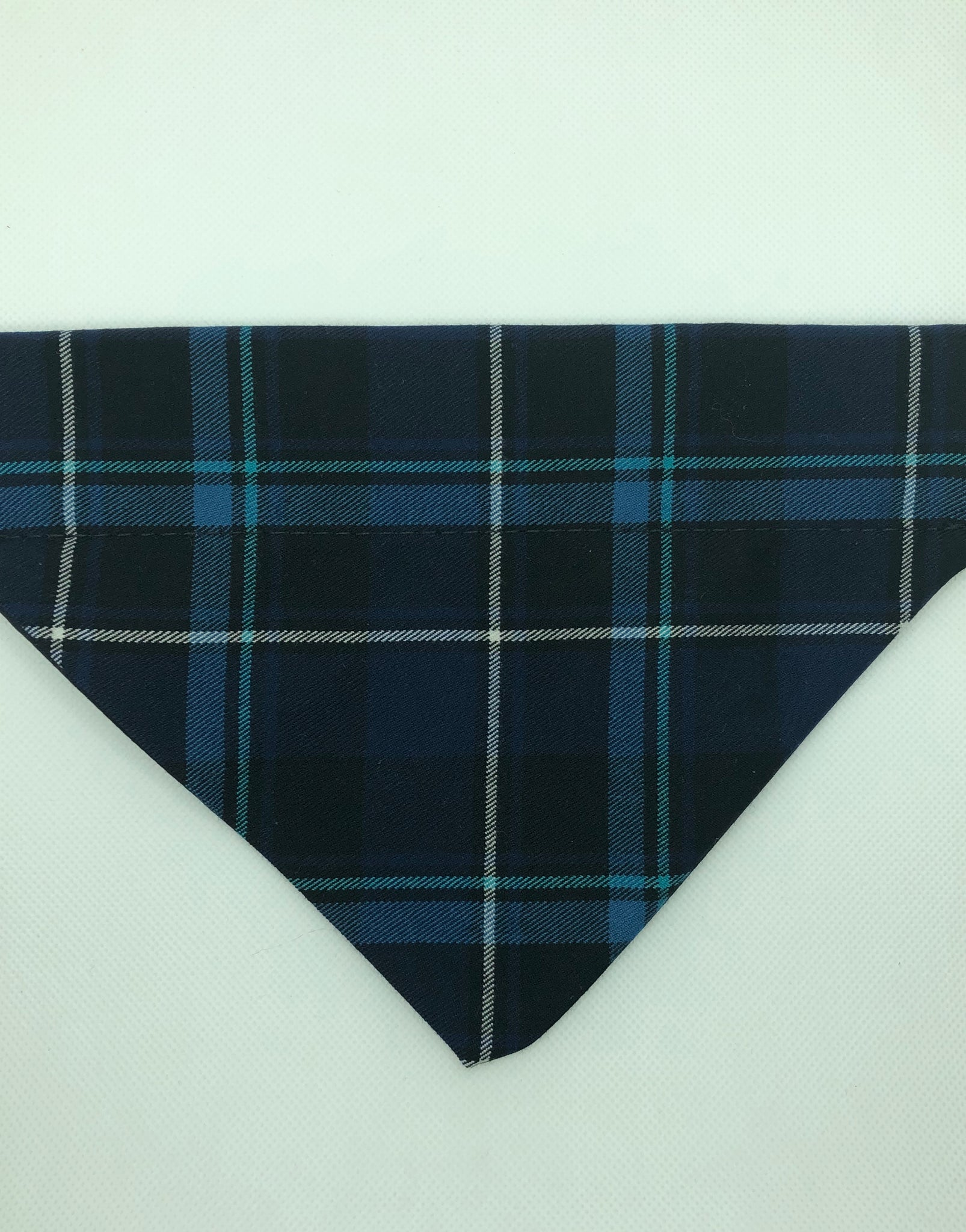Dog Bandana - Blue Plaid