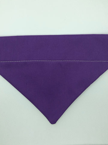 Dog Bandana - Purple