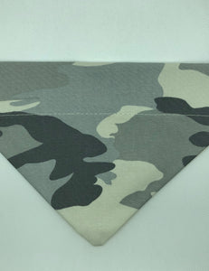Dog Bandana - Grey Camo