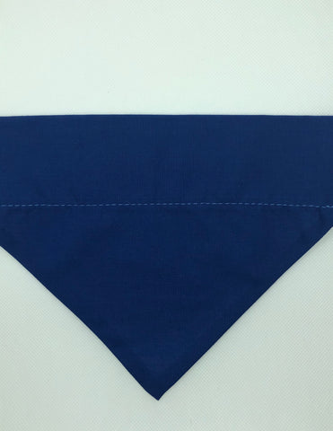 Dog Bandana - Navy Blue
