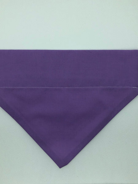 Dog Bandana - Light Purple