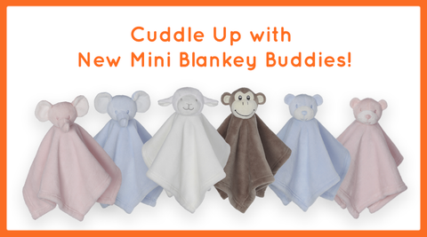 Mini Blanket Buddies - Various