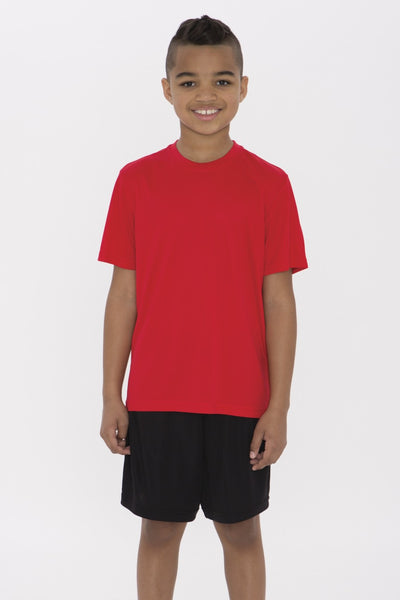 Short Sleeve Crew Neck T-Shirt (YOUTH)