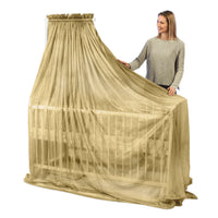GOLDKIND PRO® Shielding Canopy for Baby Bed (natural beechwood stand)