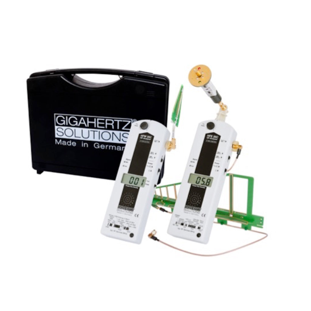 Ultra-broadband High Frequency EMF ANALYSER kit up to 6 GHz covering 5G bands: HFEW35C