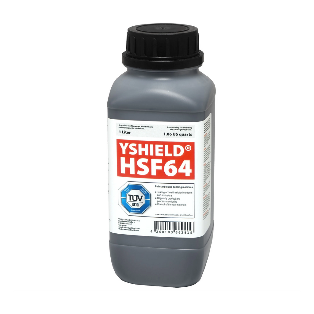 HSF64 Shielding Paint for High Frequency EMF (1 litre)