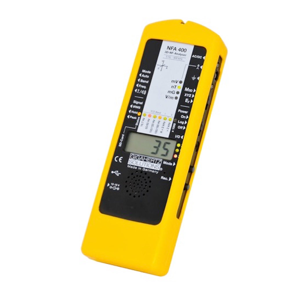 Low Frequency EMF ANALYSER with 3 Dimensional magnetic sensor and data logger: NFA400