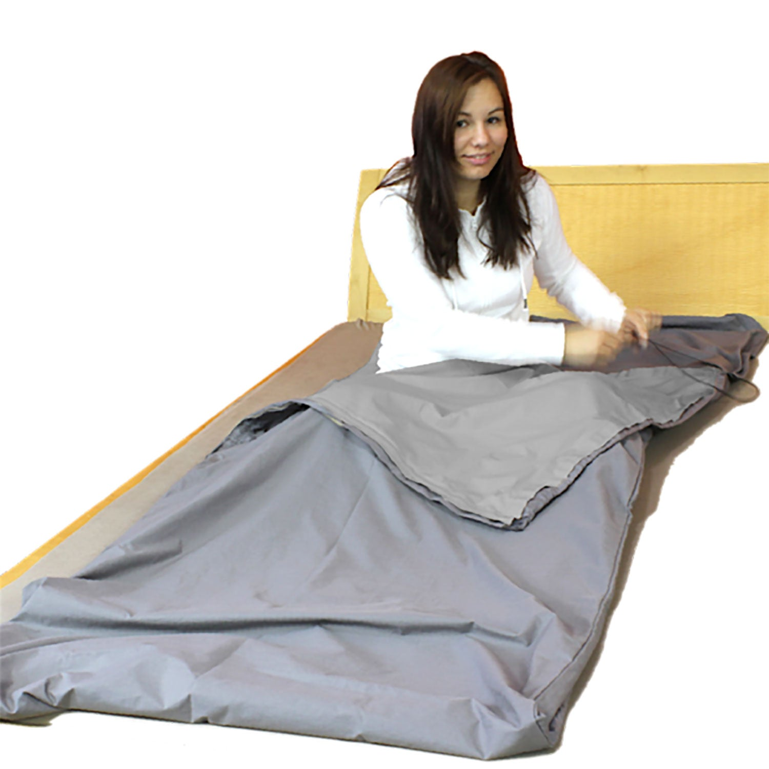 STEEL-GRAY Sleeping Bag for Shielding High Frequency EMF (1 bag)