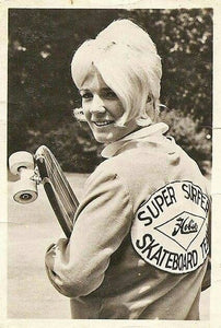 Patti McGee In HOBIE Skateboard Team Jacket