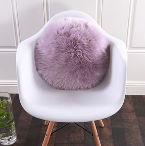COUSSIN FOURRURE ROND