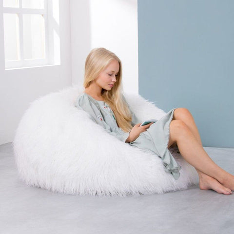Pouf Decoexpress Fourrure