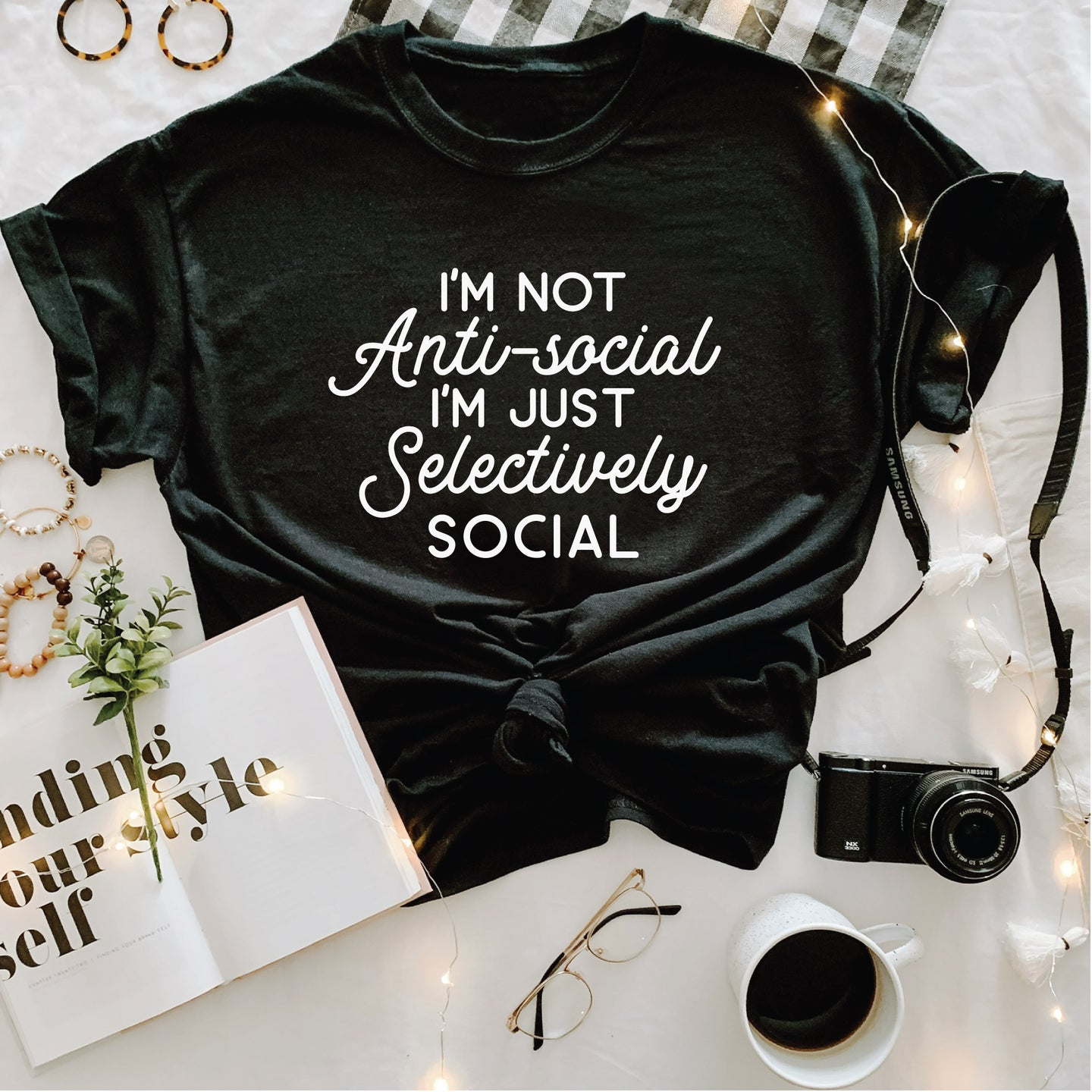 Anti-Social , Graphic Tee