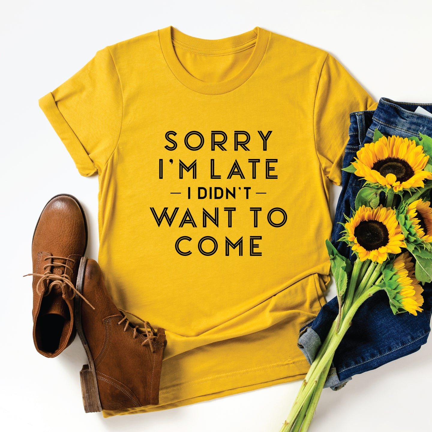 Sorry I'm Late , Graphic Tee