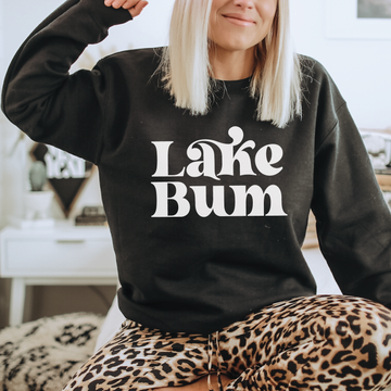 Lake bum sweatshirt - makaylagrace