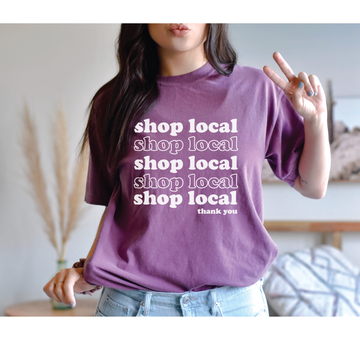 Shop local graphic tee - makaylagrace