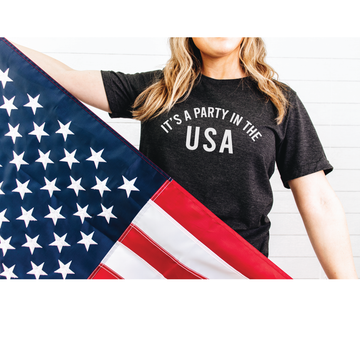Party in the USA graphic tee