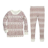 big kids fair isle pajama set