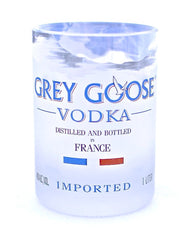 grey goose upcycled rocks glass