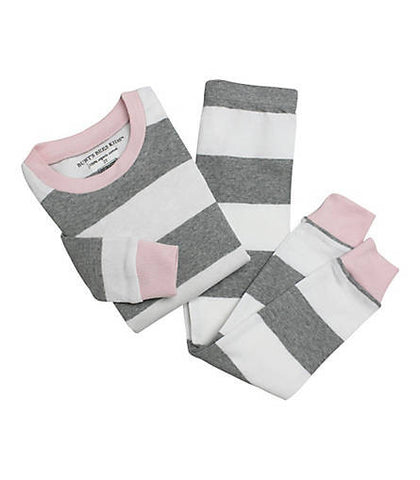 rugby stripe PJ set